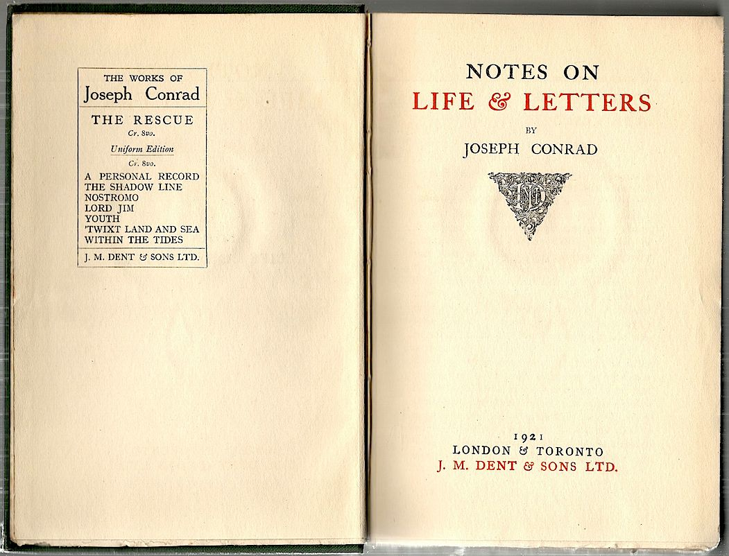 "an introduction to the life and literature by joseph conrad Dr richard ruppel professor of english homosexuality in the life and work of joseph conrad: love ""introduction"" to the first translation into."