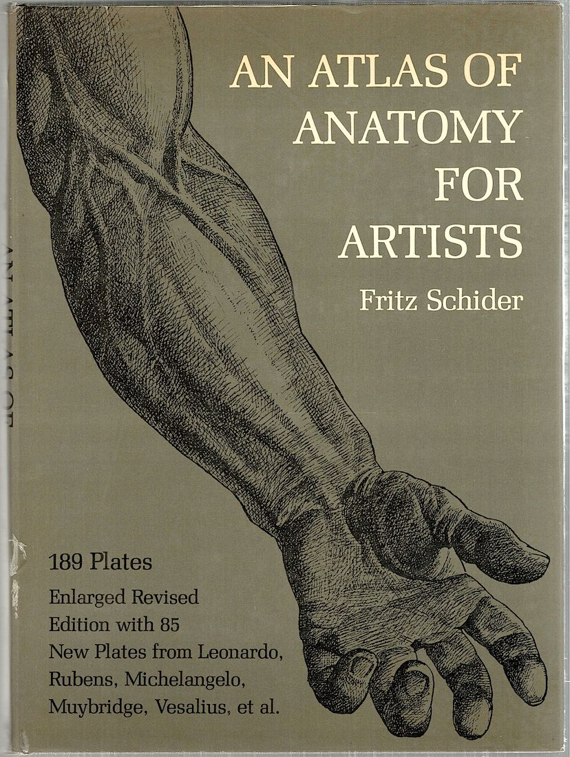 Atlas Of Anatomy For Artists Fritz Schider Third American Edition