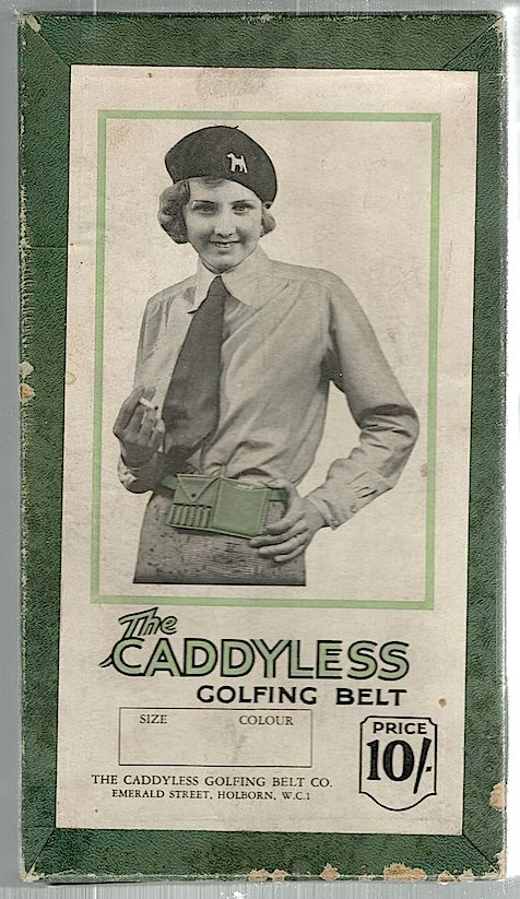 Caddyless Golfing Belt. Caddyless Golfing Belt Co.