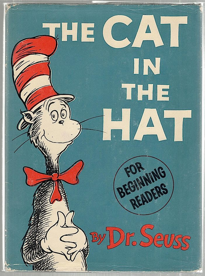 Cat in the Hat. Theodore Geisel, Dr. Seuss.