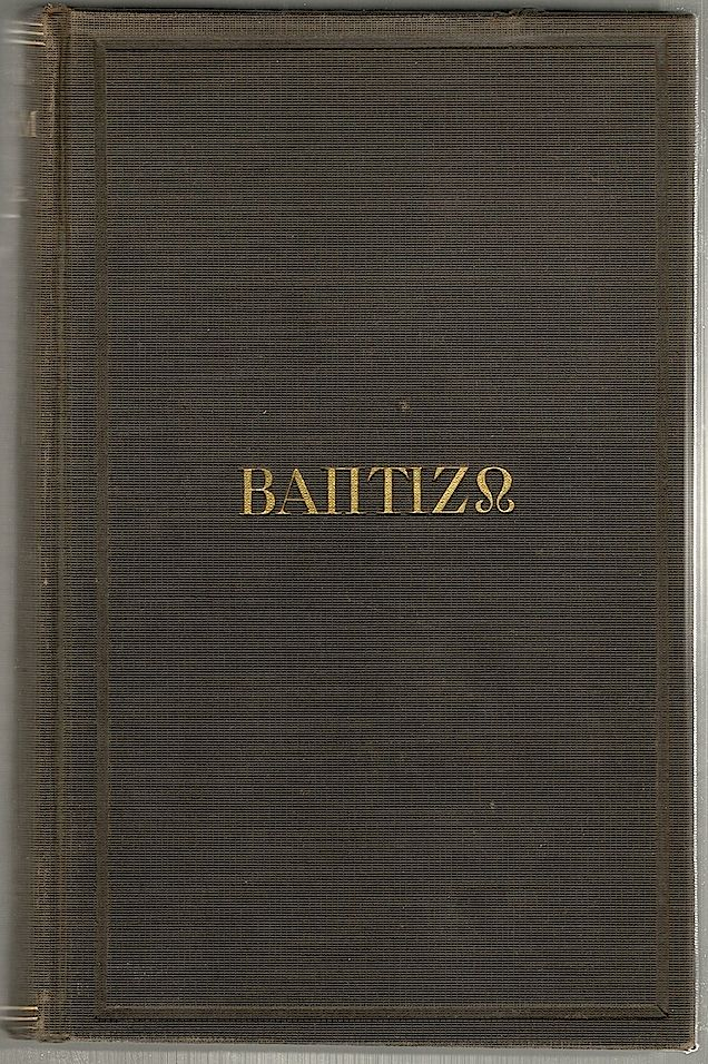 Classic Baptism; An Inquiry Into the Meaning of the Word Baptizo, as Determined by the Usage of Classical Greek Writers. James W. Dale.