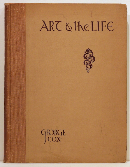 """Art and """"The Life""""; A Book on the Human Figure, Its Drawing and Design. George J. Cox."""