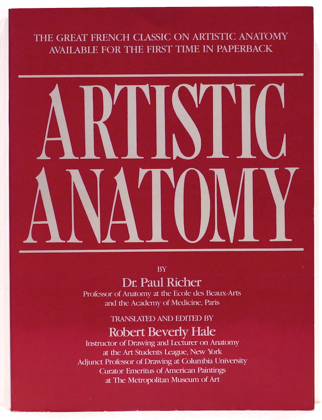 Artistic Anatomy | Paul Richer | First edition thus