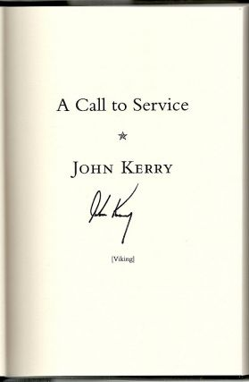 Call to Service; My Vision of a Better America