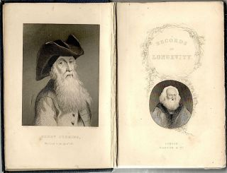 Records of Longevity; With an Introductory Discourse on Vital Statistics