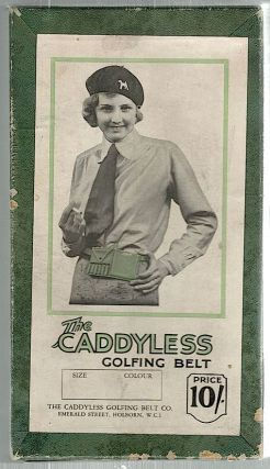 Caddyless Golfing Belt. Caddyless Golfing Belt Co