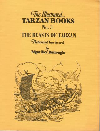 Beasts of Tarzan; Illustrated Tarzan Books No. 3. Edgar Rice Burroughs