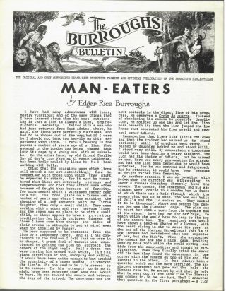 Man-Eaters. Edgar Rice Burroughs