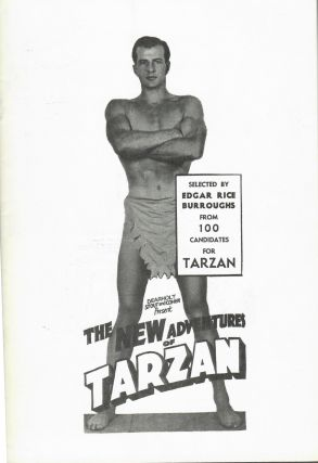 Dearholt, Stout and Cohen Present The New Adventures of Tarzan; Selected by Edgar Rice Burroughs...