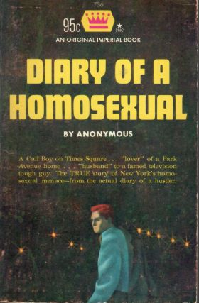 Diary of a Homosexual. Anonymous