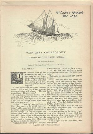 Captains Courageous; A Story of the Grand Banks. Rudyard Kipling