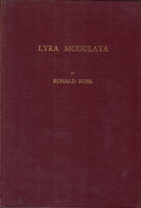 Lyra Modulata. Sir Ronald Ross