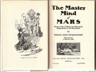 Master Mind of Mars; Being a Tale of Weird and Wonderful Happenings on the Red Planet