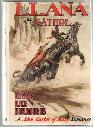 Llana of Gathol. Edgar Rice Burroughs