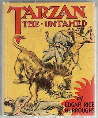 Tarzan the Untamed. Edgar Rice Burroughs