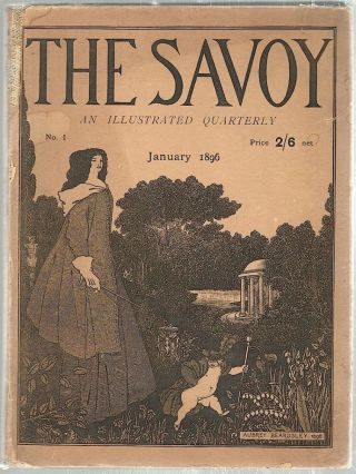 Savoy; No. 1. An Illustrated Quarterly. Aubrey Beardsley.