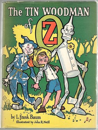 Tin Woodman of Oz. L. Frank Baum