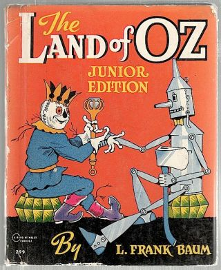 Land of Oz; Junior Edition. L. Frank Baum