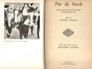 Fin de Siècle; A Selection of Late 19th Century Literature and Art