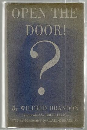 Open the Door!; Transcribed by Edith Ellis. Wilfred Brandon