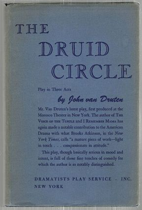 Druid Circle; A Play in Three Acts. John Van Druten