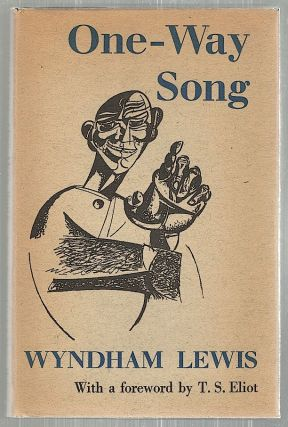 One-Way Song. Wyndham Lewis