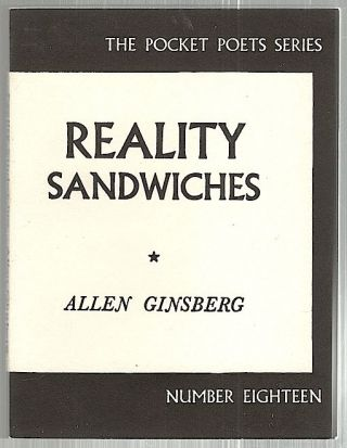 Reality Sandwiches. Allen Ginsberg.
