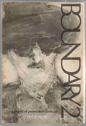 Boundary 2; A Journal of Postmodern Literature. William V. Spanos, Robert Kroetsch