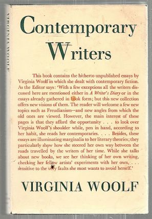 Contemporary Writers. Virginia Woolf