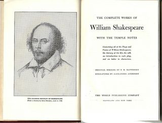 Complete Works of William Shakespeare; With the Temple Notes