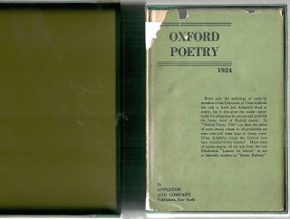 Oxford Poetry; 1924