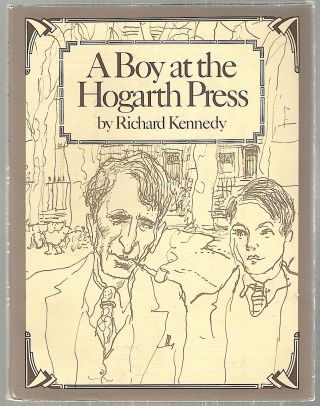 Boy at the Hogarth Press. Richard Kennedy.