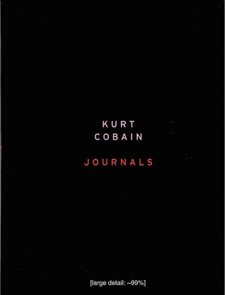 Journals. Kurt Cobain