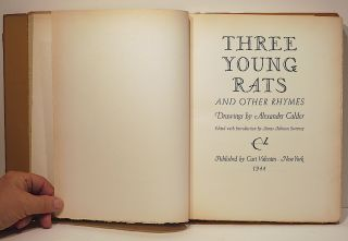 Three Young Rats; And Other Rhymes