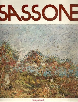 "Sassone ""California""; A Collection of His Works, 1970-1973. Marco Sassone."