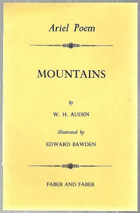 Mountains. W. H. Auden