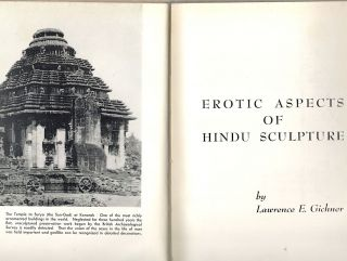 Erotic Aspects of Hindu Sculpture