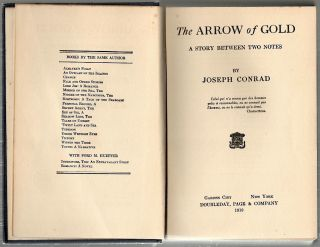 Arrow of Gold; A Story Between Two Notes