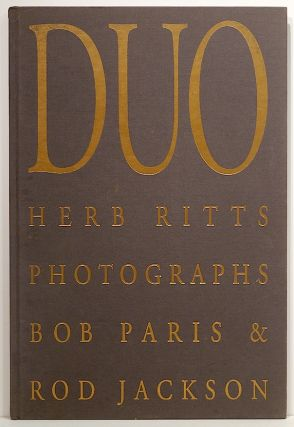 Duo; A Book of Photographs. Herb Ritts.