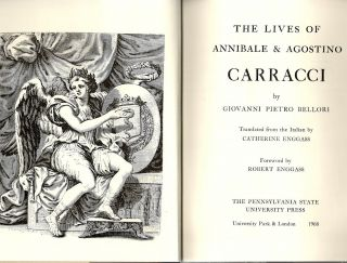 Lives of Annibale & Agostino Carracci