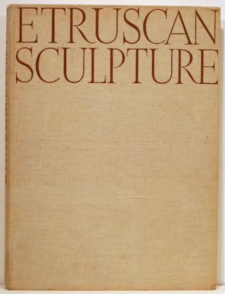 Etruscan Sculpture. Ludig Goldscheider, introduction