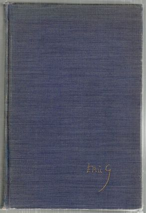 Autobiography. Eric Gill