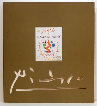 Picasso; Sixty Years of Graphic Works. Ebria Feinblatt