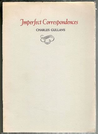 Imperfect Correspondences. Charles Gullans