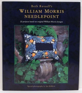 William Morris Needlepoint. Beth Russell
