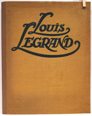 Louis Legrand; Three Cuts in Four Colours, 31 Drawings on Superfine Unglazed Art Paper, 21 Tinted...