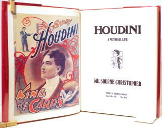 Houdini; A Pictorial Life