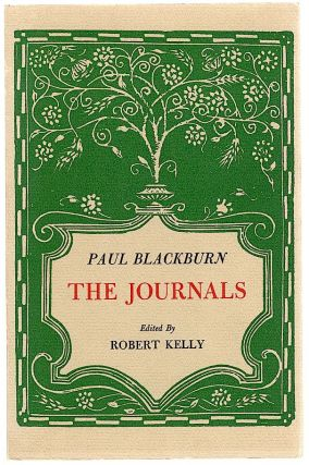 Journals. Paul Blackburn.
