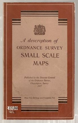 Description of Ordnance Survey Small Scale Maps. Ordnance Survey