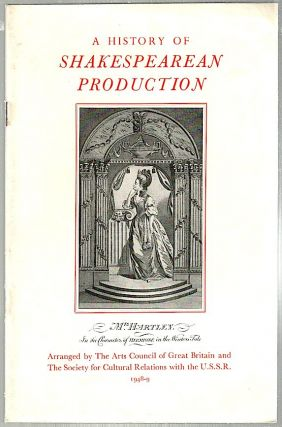 History of Shakespearean Production. M. St Clare Byrne